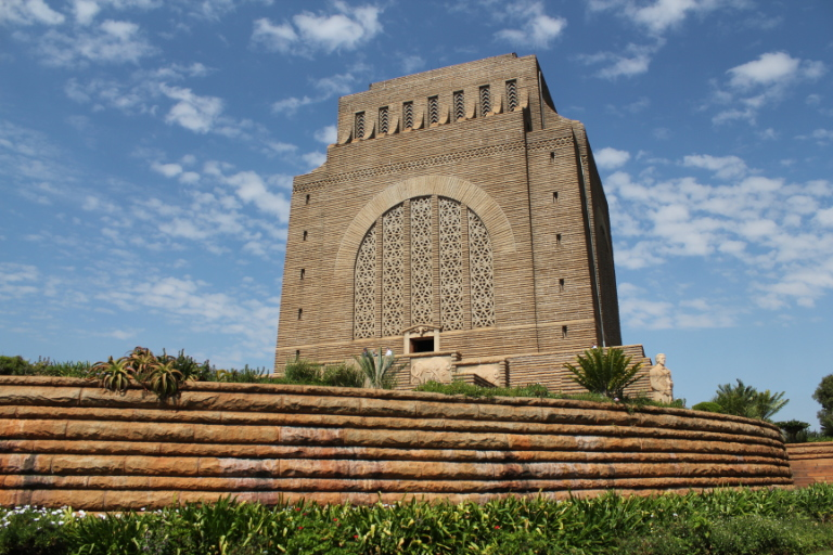 Wide angle view of the Voortrekker Monument