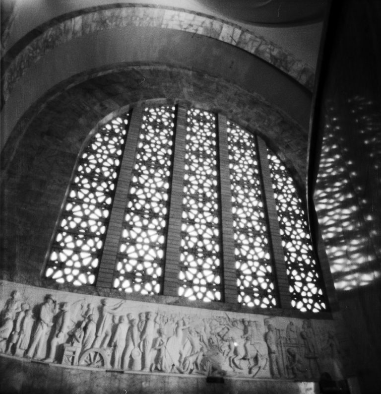 Voortrekker Monument hall pinhole photo by Eric Brindeau