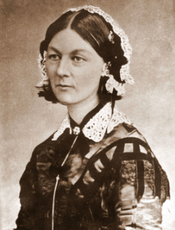 Florence Nightingale, photo credit H Lenthall, Wikipedia